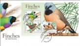 05/06/2018 Australia FDC Finches of Australia (Part 2) miniature sheet